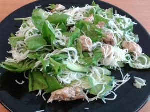 Salade met mihoen