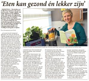 Artikel Barneveldse Krant 18 november 2013
