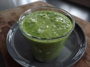 Lekker zoete groene smoothie