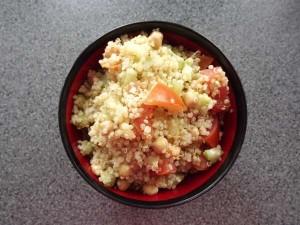 Quinoa met kikkererwten