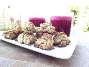 Wortel-notenkoekjes