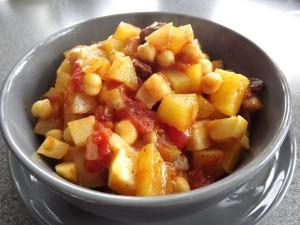Stoofschotel met koolrabi en aardappel