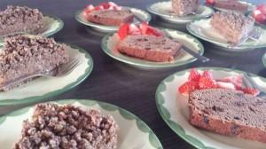 Appel-havermouttaart en kruidcake
