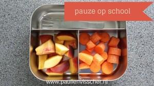 Eten in de pauze op school