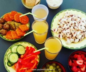 Vegan eten in de vakantieperiode