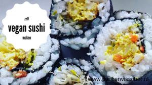Zelf vegan sushi maken