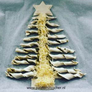 Kerstboom uit de oven