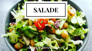 Salade als lunch
