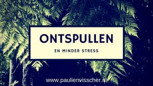 Ontspullen en minder stress