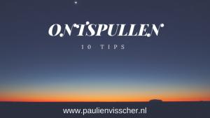 Ontspullen 10 tips