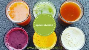 Appel-kiwisap