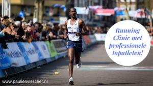 Running Clinic met professionele topatleten in Barneveld